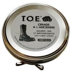 Cirage 100 ml noir | T.O.E