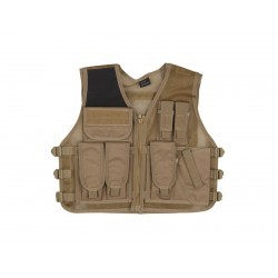 Gilet tactique recon tan | Strike Systems