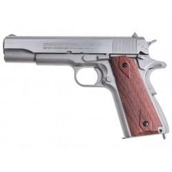 Réplique airgun SA 1911 seventies stainless, CO2 blow back | Swiss Arms