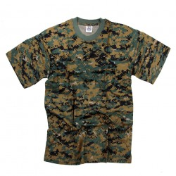 T-hirt recon camouflage digital | 101 Inc
