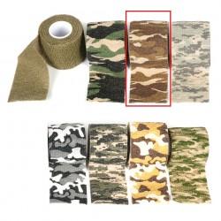 Bande de camouflage 450 x 5 cm désert | Fosco