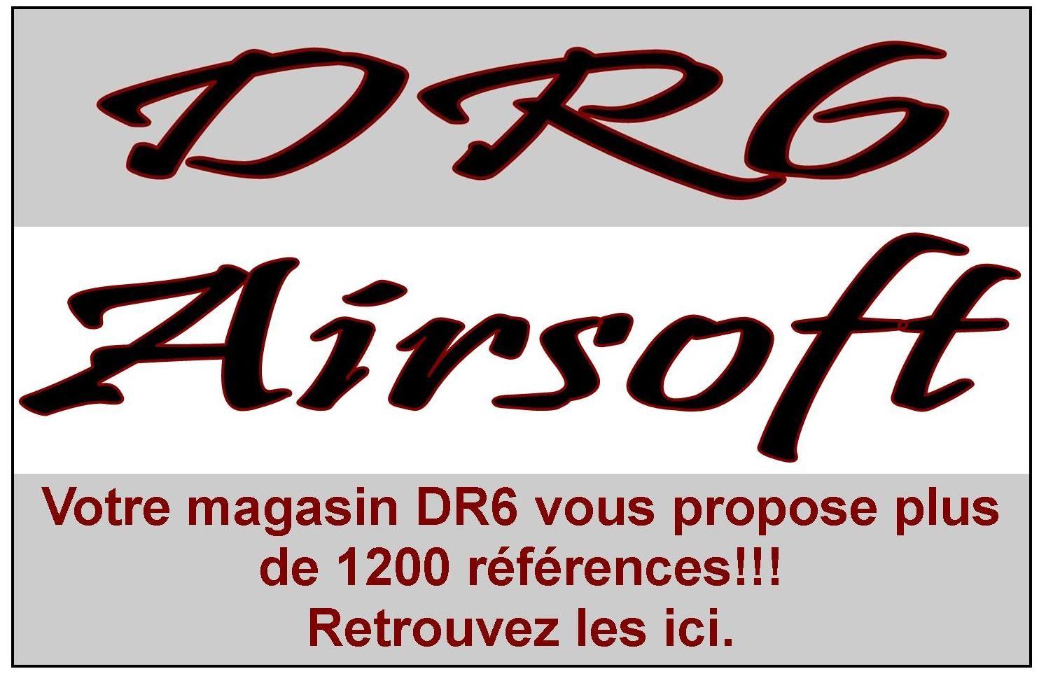 Votre magasin DR6 vous propose sa catégorie AIRSOFT
